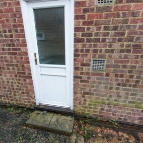 16 Door brick up