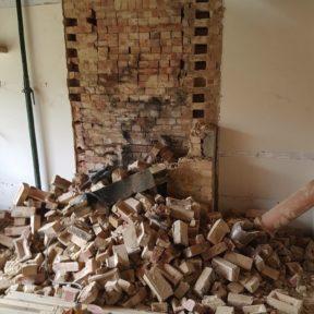 8 Chimney removal