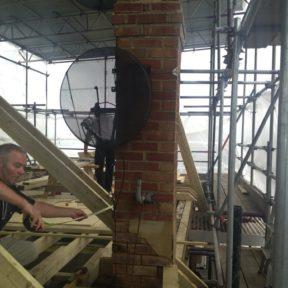 Chimney rebuild 1
