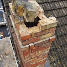 Chimney removal 2