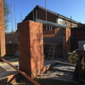 Double storey extension 11