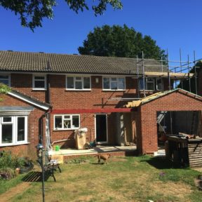 Double storey extension 6
