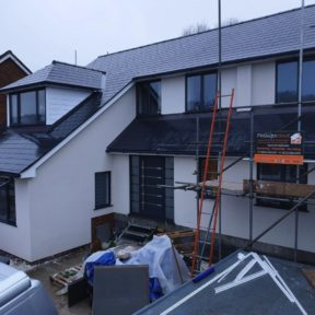 Double storey side extension 12