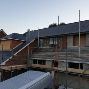 Double storey side extension 13