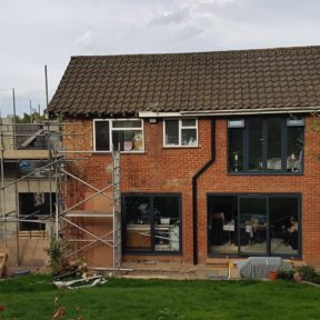 Double storey side extension 15