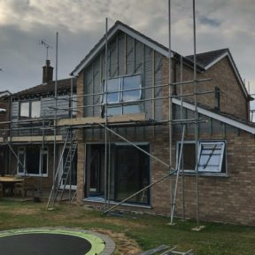 Double storey side extension 21