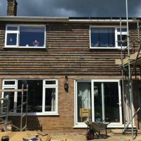 Double storey side extension 22