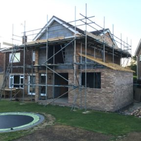 Double storey side extension 24