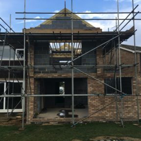 Double storey side extension 28
