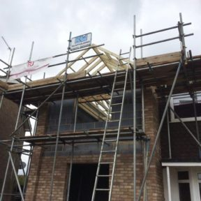 Double storey side extension 30