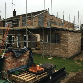 Double storey side extension 31