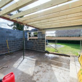Double storey side extension 32