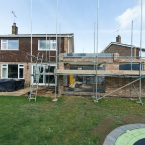 Double storey side extension 33