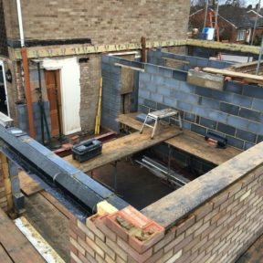Double storey side extension 37