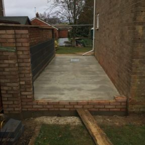 Double storey side extension 54