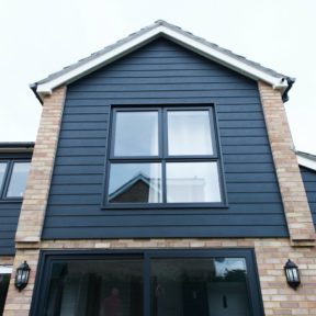 Double storey side extension 8