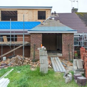 Extension with loft conversion 18