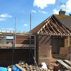 Extension with loft conversion 21