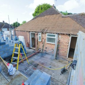 Extension with loft conversion 27