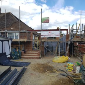 Extension with loft conversion 28