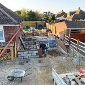 Extension with loft conversion 32