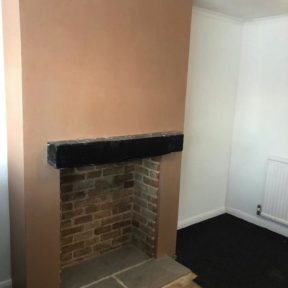 Fireplace remodeling 4