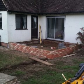 Single storey kitchen extension 5