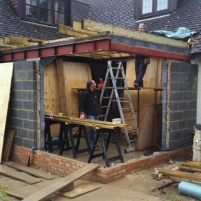 Single storey kitchen extension 6