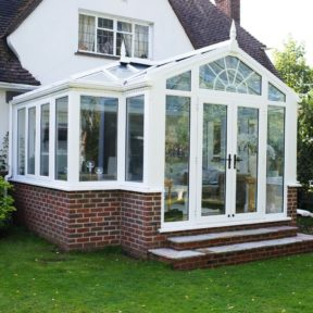 T shaped conservatory 1