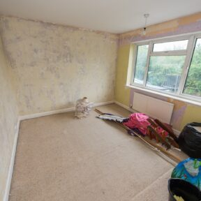 Existing second bedroom