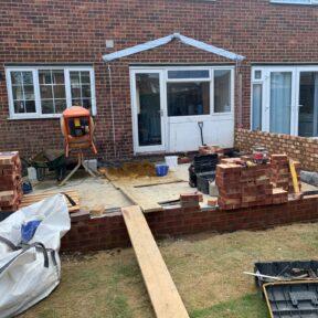 Oversight and brickwork