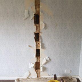 Party wall reapir