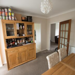 Existing dinning room