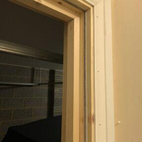 New door opening